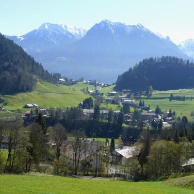 Tiefenbach, Blick vom Wasserhäuschen