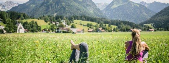 Entspannung auf den Öschwiesen