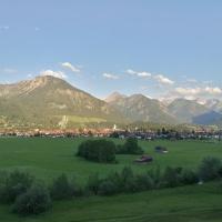 Oberstdorf in der Abendsonne