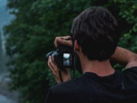Alex Fuchs an der Kamera