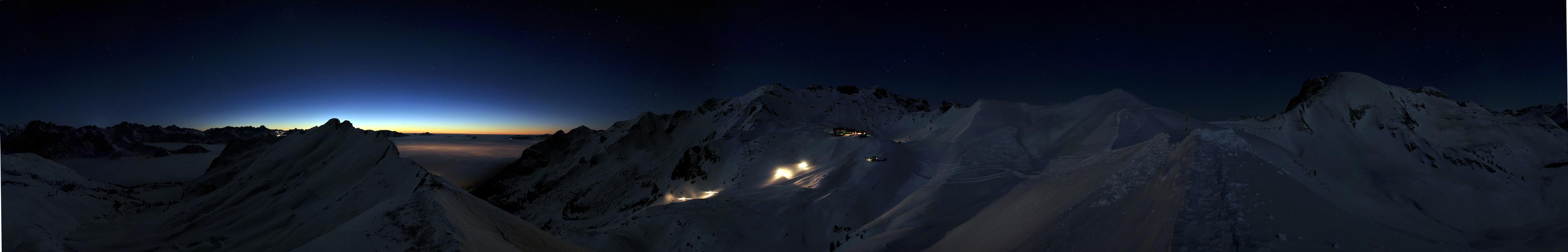 Magische Stimmung am Nebelhorn