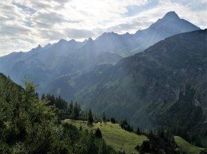 Aufstieg Mindelheimer Hütte