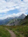Abstieg Trifthütte ins Rappenalptal