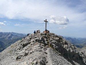 Gipfelkreuz Hohes Licht
