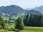 Blick nach Tiefenbach von Alpe Dornach