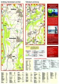 Ortsplan Ortsteile und Straßenverzeichnis