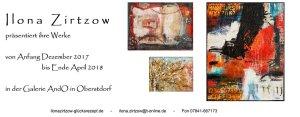 Galerie AndO, Ausstellung Ilona Zirtzow