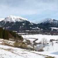 Blick vom Bergbad in Jauchen