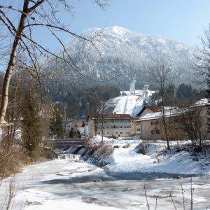 Faltenbach im Winter