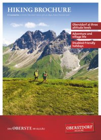 Titel Hiking Brochure 2018