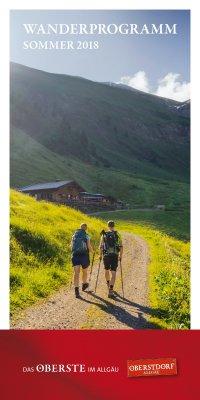 Sommerwanderprogramm 2018