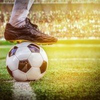 Soccer football kick off in the stadium 531061375