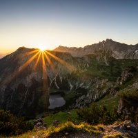 Sonnenaufgang Rubihorn