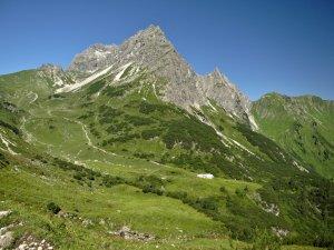 Ausblick zum Widderstein