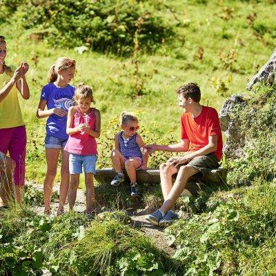 Familienwandern am Fellhorn