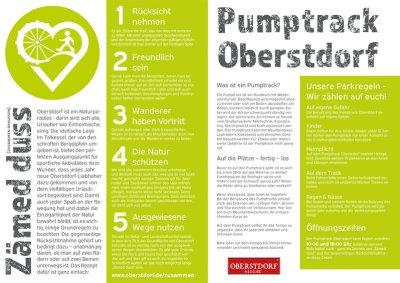 Pumptrack Regeln