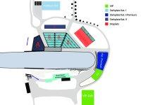 Stadionplan Skifliegen 2019
