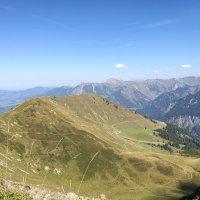 Blick zur Alpe Schlappold