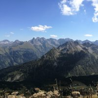 Bergblick vom Fellhorngrat