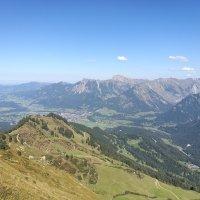Ausblick nach Oberstdorf