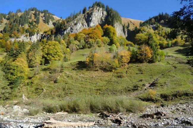 Traufbachtal im Herbst