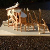Spielart Skulptur Baumhaus
