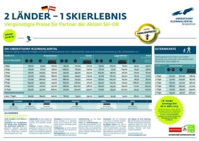 Skipasspreise SKI-OK-2018-2019