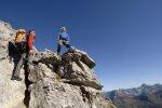 Ausblick am Hindelanger Klettersteig