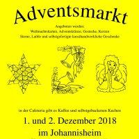 Adventsmarkt 2018 Kolping