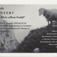 Benefizkonzert Tiefenbach
