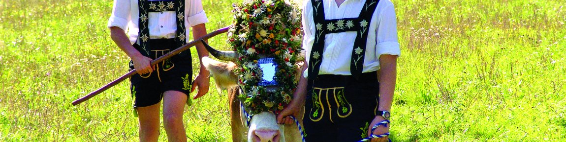 Wreath cow and shepherds