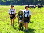 Wreath cow and shepherds