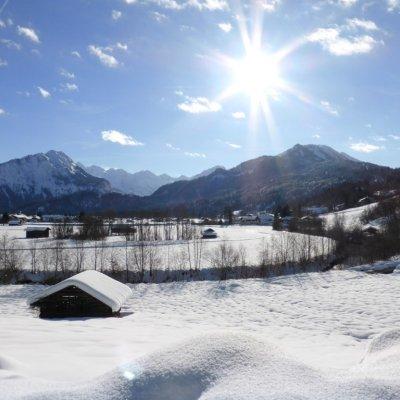 Traum Wintertag in Oberstdorf