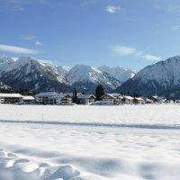 Wintermärchen in Oberstdorf