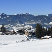 Kühberg im Winter