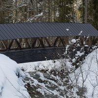 Brücke an der Stillach