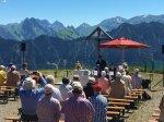 evangelischer Berggottesdienst am Fellhorn