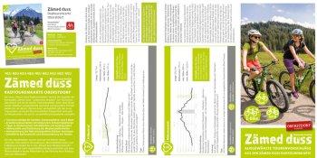 Flyer Radtourenkarte