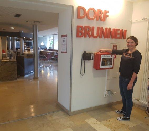 Defibrillator im Oberstdorf Haus