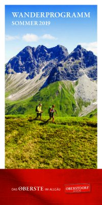 Wanderprogramm Sommer 2019