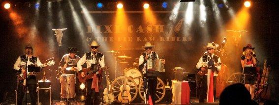 Dixi Cash & The Die Raw Riders