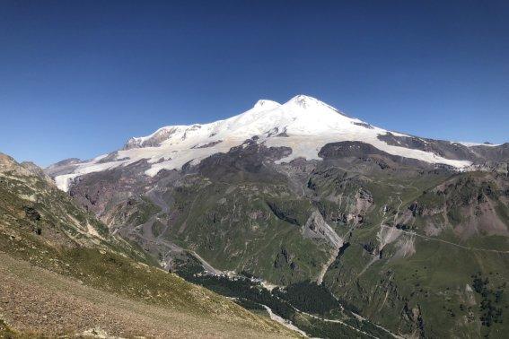 Blick auf den Elbrus