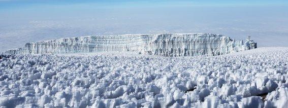 Eisfeld am Kilimanjaro