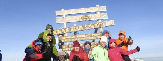 Kilimanjaro Gipfel AMICAL alpin