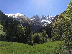 Ausblick von der Buchrainer Alpe