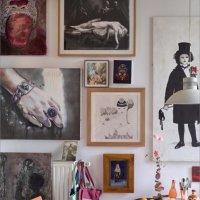 Wohnung eines Kunstsammlers 2019 © Achim Kukulies