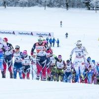 Tour de Ski Anstieg Damen