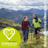 Zämed duss Outdoorfestival Flyer 2019
