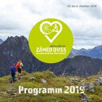 Broschüre Zämed duss 2019