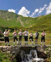 Musiker am Fellhorn